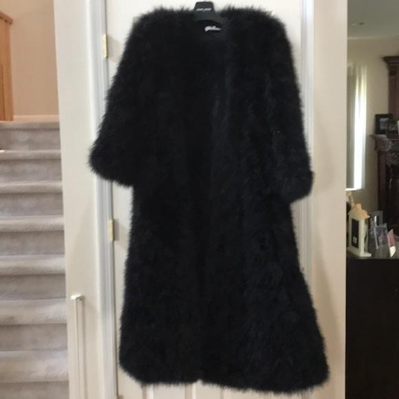 cd13ad4c18c Sonia Rykiel Jackets & Coats   Ostrich Feather Long Coat   Poshmark